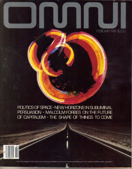 Omni - Forbes Cover
