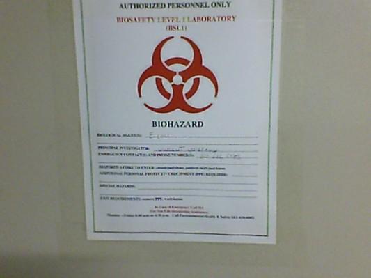 biohazards - 2