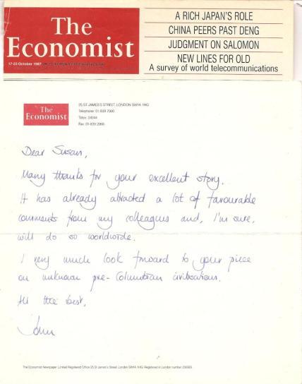 John Parker - Economist letter to me re my Lydian Hoard - Economist story.jpeg