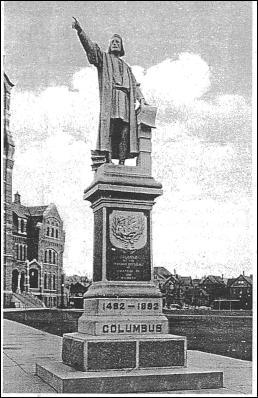 Columbus Statue - Scranton