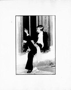 MAZUR, Soho loft, 1976, wearing Dimitri, photo Linda Rodin-2