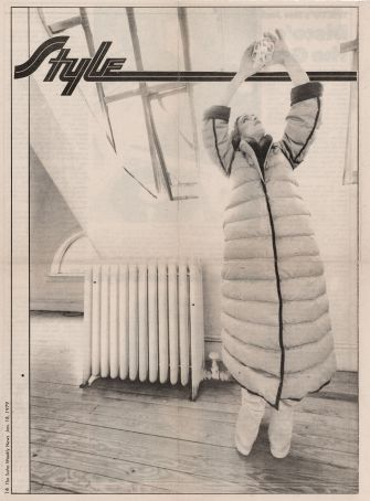 SOHO NEWS - STYLE - WEEKLY - quilted coat