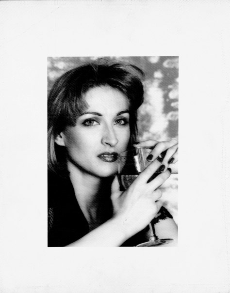 Suzan Mazur, 1975, photo by Valentin, dress--Alexandra Christie-2