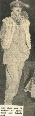 Suzan Mazur - Geoffrey Beene Fur Show - WWD, 1978-2