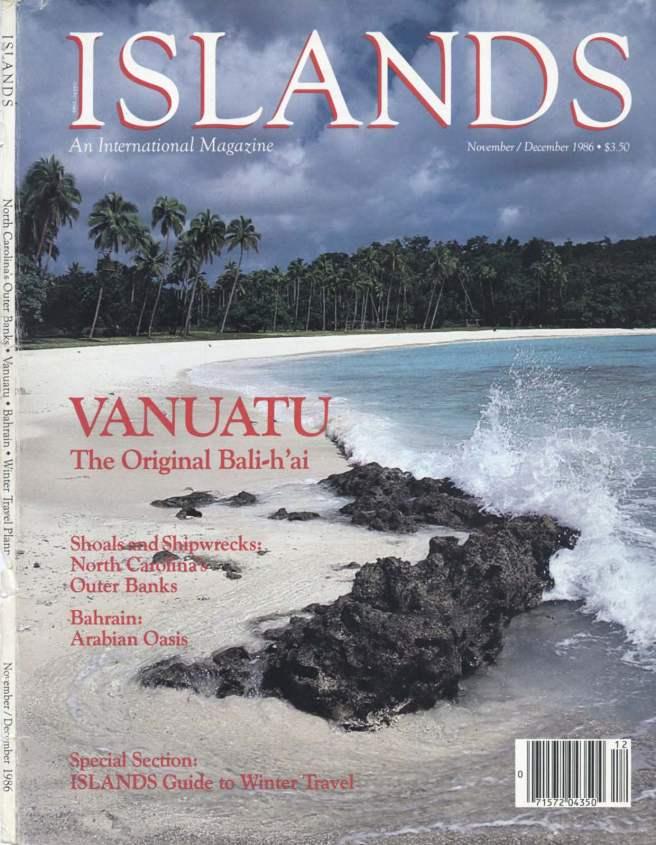 Suzan Mazur, Islands, Nov-Dec, 1986, Shoals and Shipwrecks--North Carolina's Outer Banks -2_Page_1