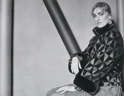 Suzan Mazur, photo by Marcus Leatherdale, 1978