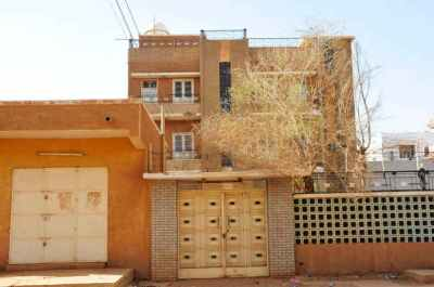 Al Qaeda leader Osama bin Laden former house is seen in Khartoum